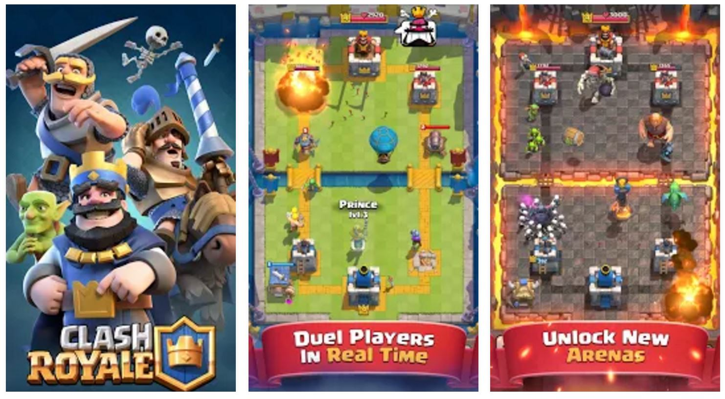Clash Royale is already the top-grossing iOS game in the