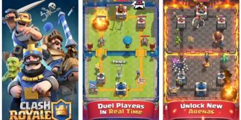 Supercell's Clash Royale rushes to the top of the download charts in 12 hours