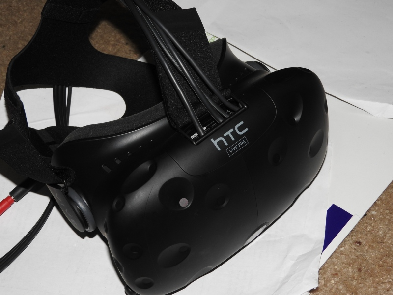 HTC Vive Pre will ship in the first week of April.