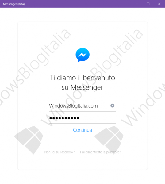 Facebook_Messenger_Windows_10_login