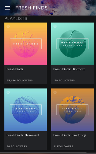 Fresh Finds - Spotify