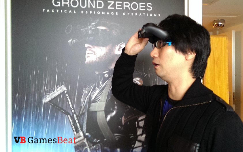 Kojima Productions' Hideo Kojima. This photo was taken during the PlayStation 4 review event in New York. There wasn't a controller handy, so I prematurely unboxed my PS4 review unit to make this happen.