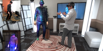 Microsoft's 'holoportation' with HoloLens is blowing my mind