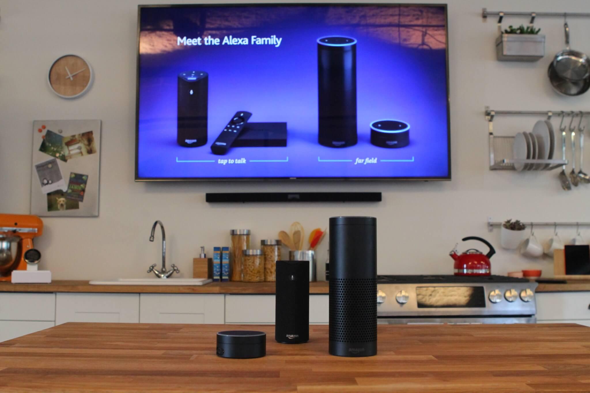 Amazon's family of Alexa-enabled devices