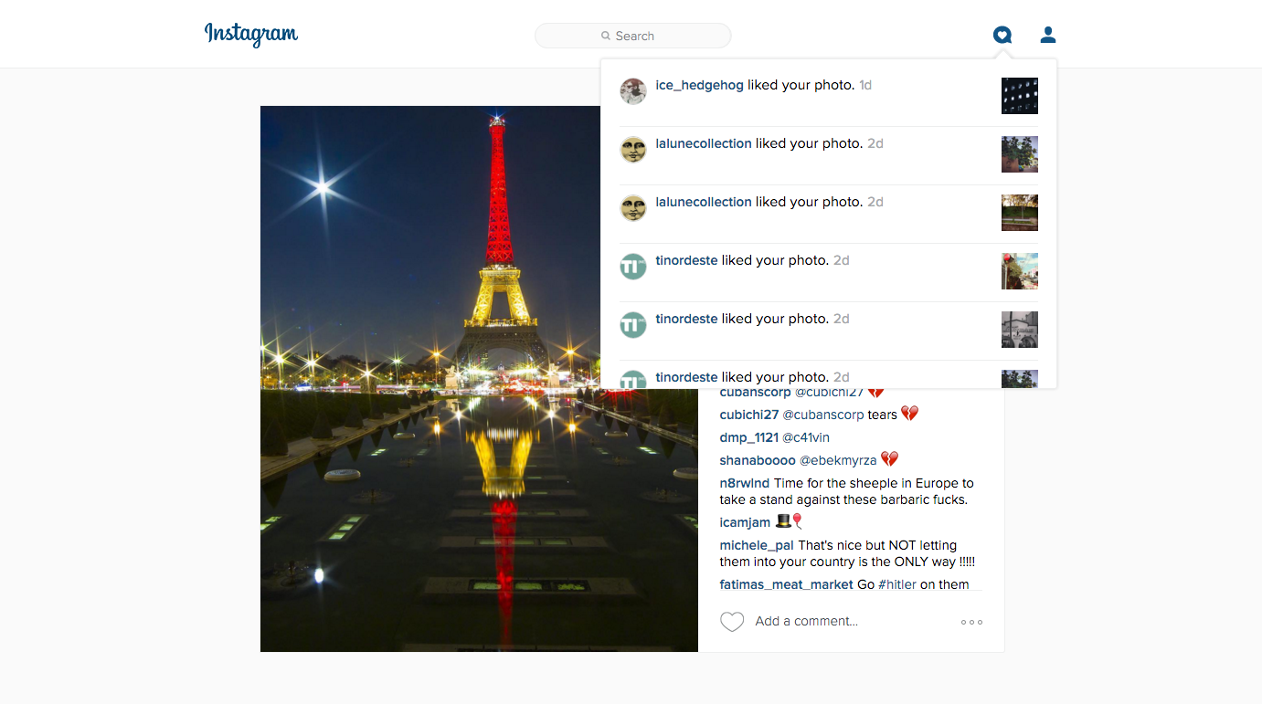 Instagram starts showing notifications on the Web for all users