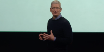 Tim Cook opens WWDC with moment of silence for Orlando terrorist attack victims