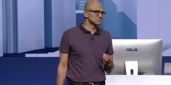 The PC market is stabilizing, says Microsoft CEO Satya Nadella