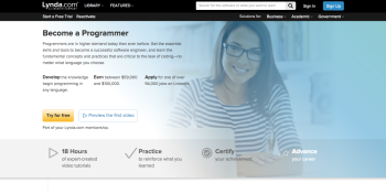 Lynda.com's new Learning Path program plans the courses needed to land the job you want