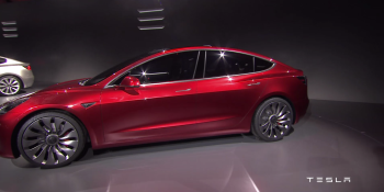 Tesla finally unveils the Model 3: its first car for the masses