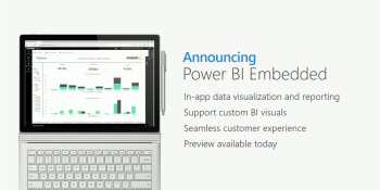 Microsoft launches Power BI Embedded in public preview