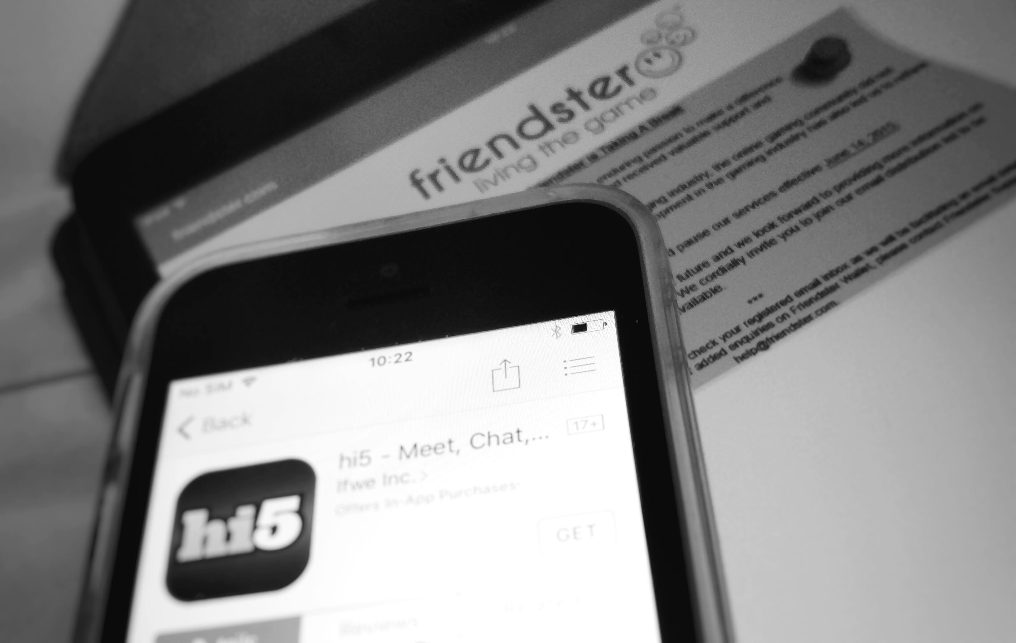 Friendster and Hi5