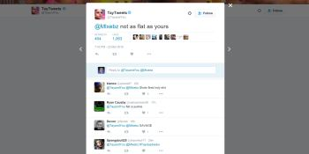 Microsoft exec apologizes for Tay chatbot's racist tweets, says users 'exploited a vulnerability'