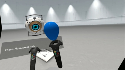 Valve uses one of its most beloved games to introduce HTC Vive