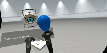 Valve uses one of its most beloved games to introduce HTC Vive owners to SteamVR