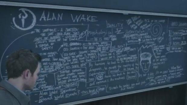 Alan Wake Easter egg in Quantum Break