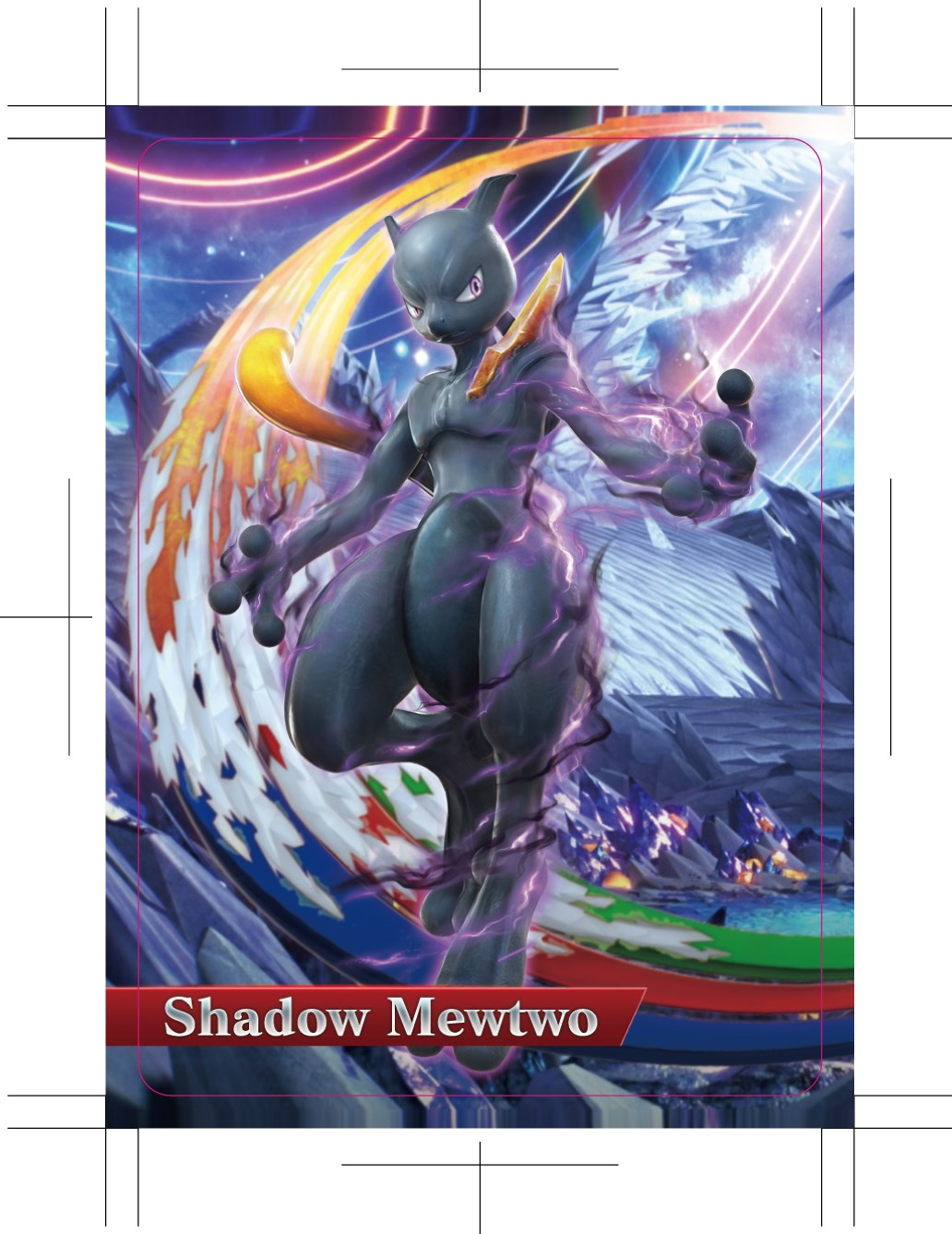 First-run editions of Pokkén Tournament all come with a Shadow Mewtwo Amiibo card.