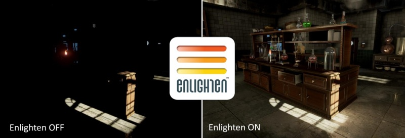 ARM's Enlighten creates better lighting effects in games.
