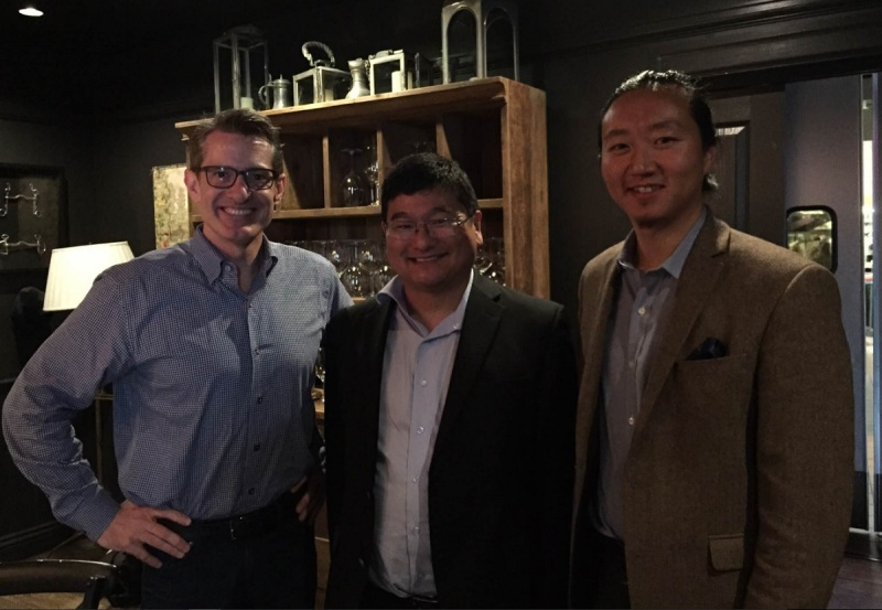 Kent Wakeford, Dean Takahashi, and Brandon Lee.