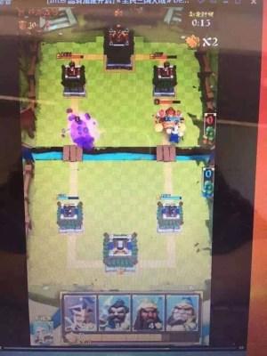 Fake Clash Royale game
