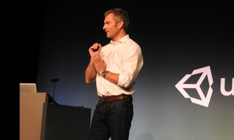Clive Downie of Unity believes his game engine has the most momentum.