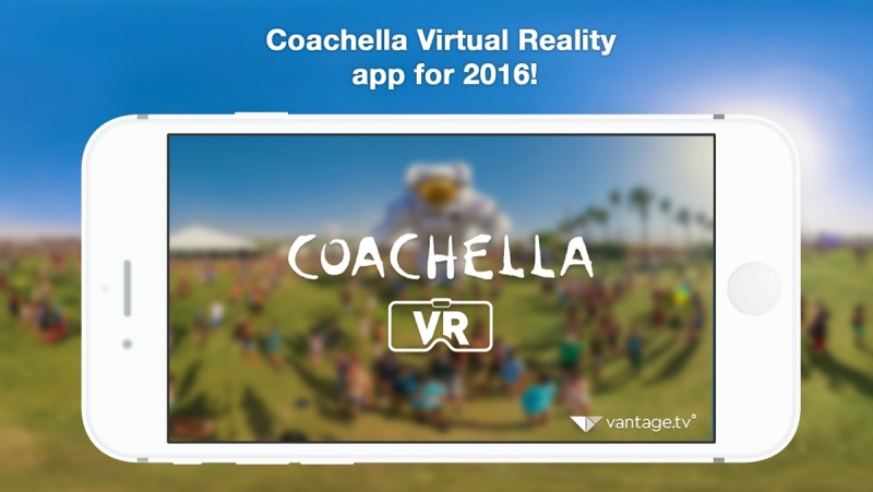 The Coachella music festival will be broadcast in VR.