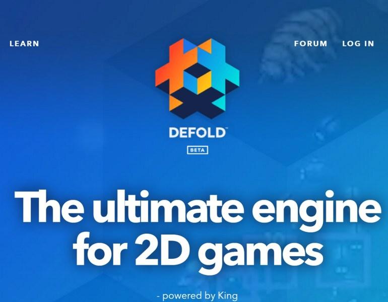 Defold 2D game engine.