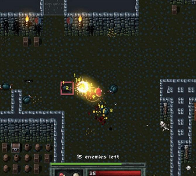 Defold game Hammerwatch Coliseum