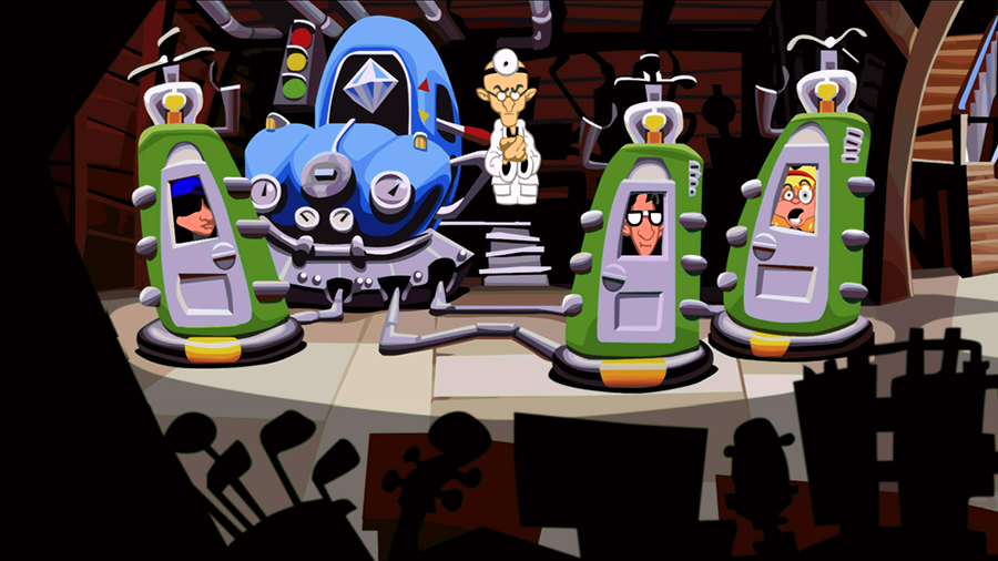 Wait, Day of the Tentacle didn't always look like this?