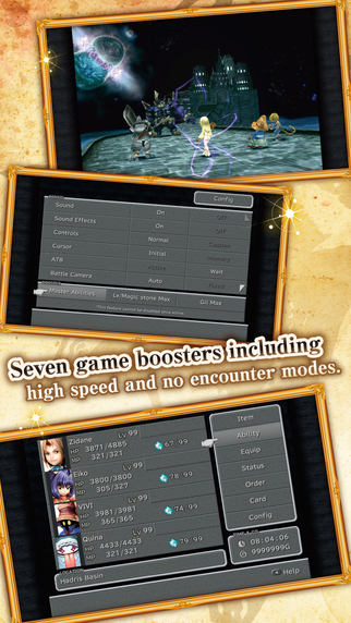 Final Fantasy IX has new Features on mobile.