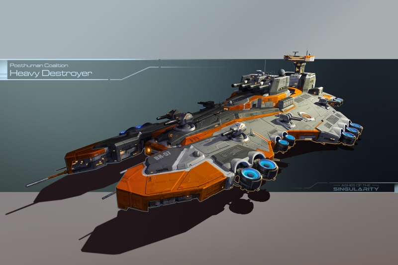 Heavy destroyer in Ashes of the Singularity.