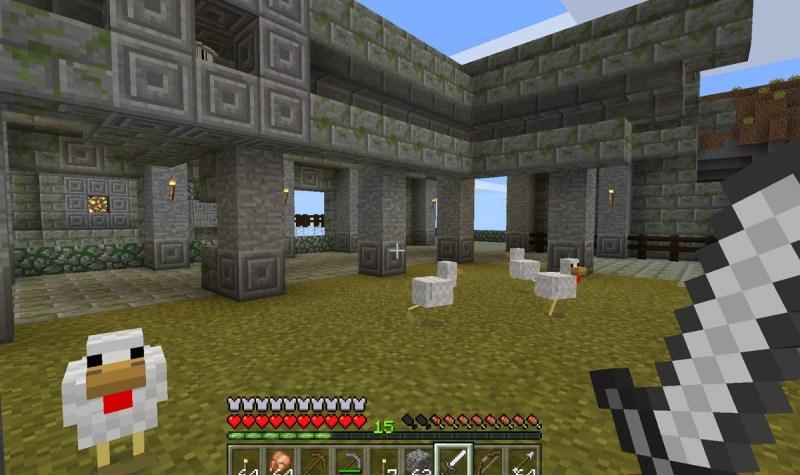 Turkeys in Minecraft