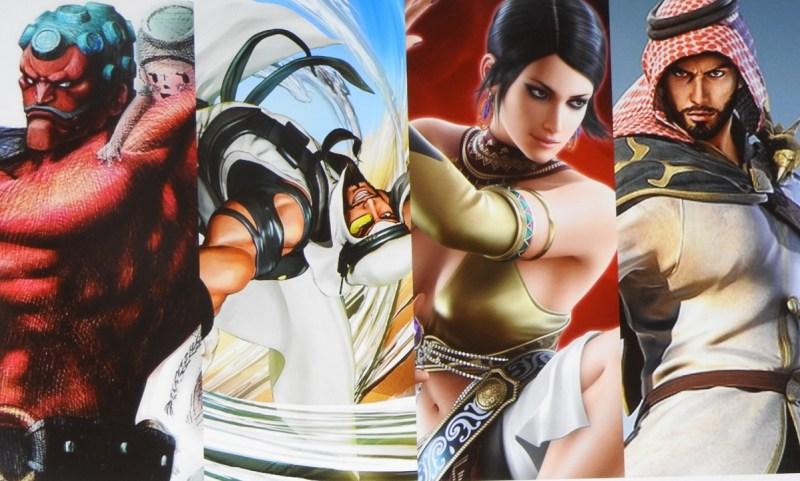 Muslim characters in fighting games.