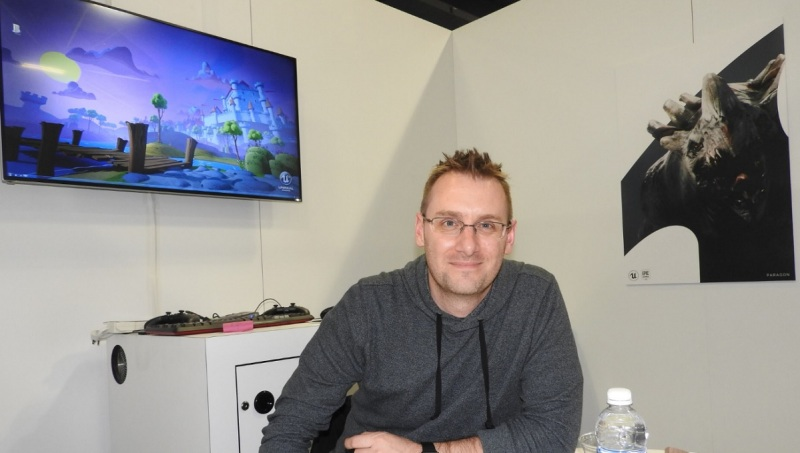 Donald Mustard of Epic Games' Chair Entertainment