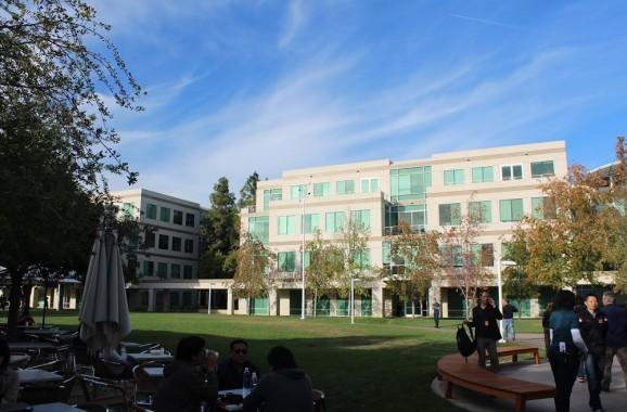 Apple's old campus