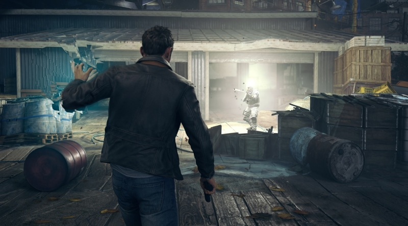 Quantum Break isn't a run and gun shooter. You have to play time tricks to stay alive.