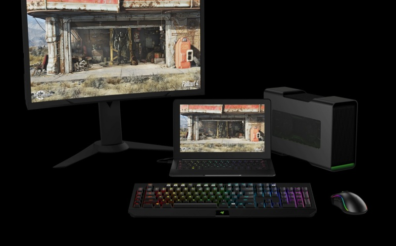 Razer Blade has lots of options for expanded capabilities.