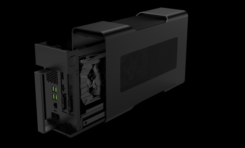 Razer Core lets you change graphics on the fly.
