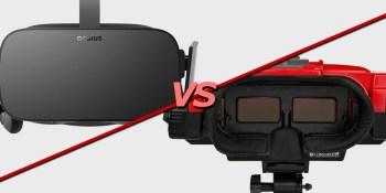 Oculus Rift vs. Nintendo's Virtual Boy: A super-serious comparison