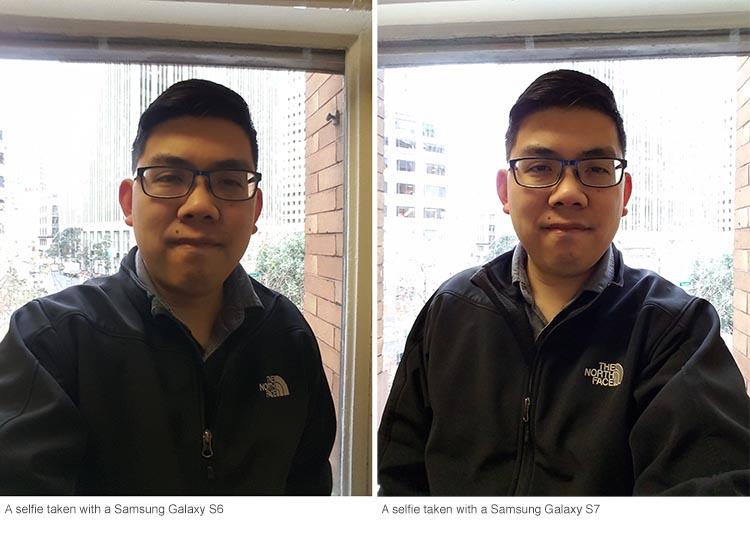 Samsung Selfie test
