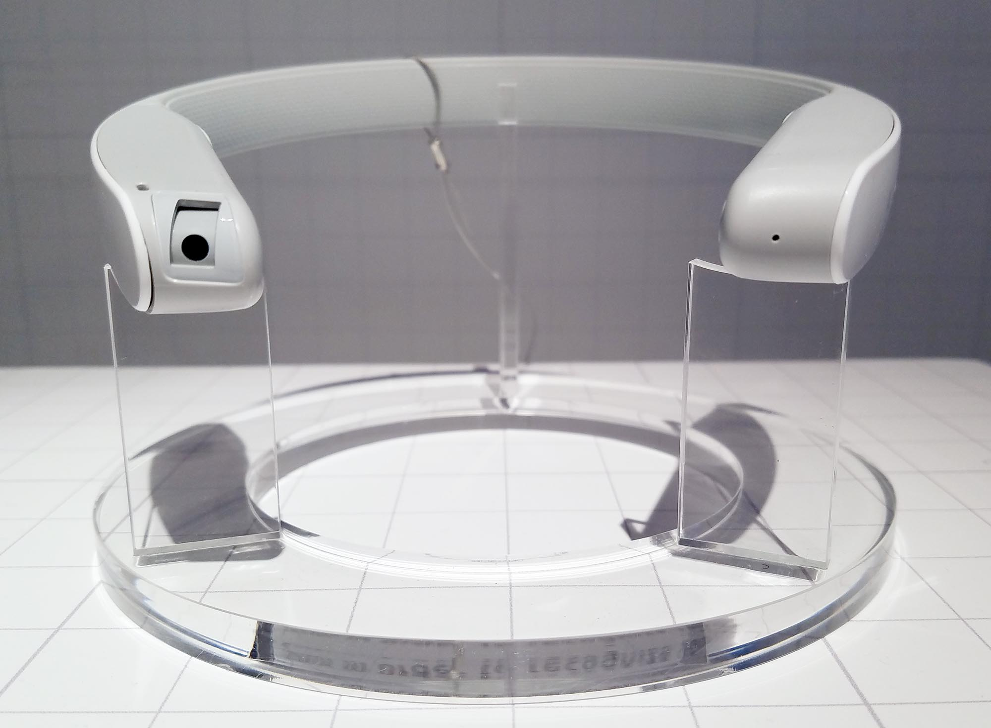 A concept prototype of Sony's interactive display projector.