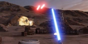 Watch us play Star Wars: Trials on Tatooine in VR