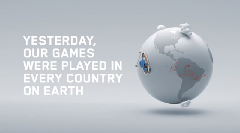 Supercell's games are played by 100M people around the world.