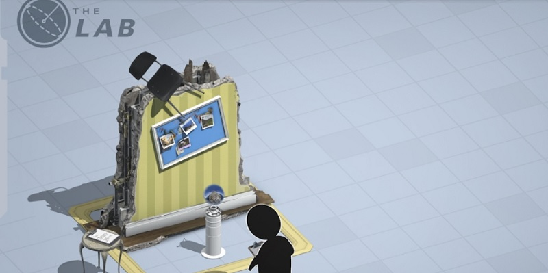 Valve's The Lab is a VR mini game suite.