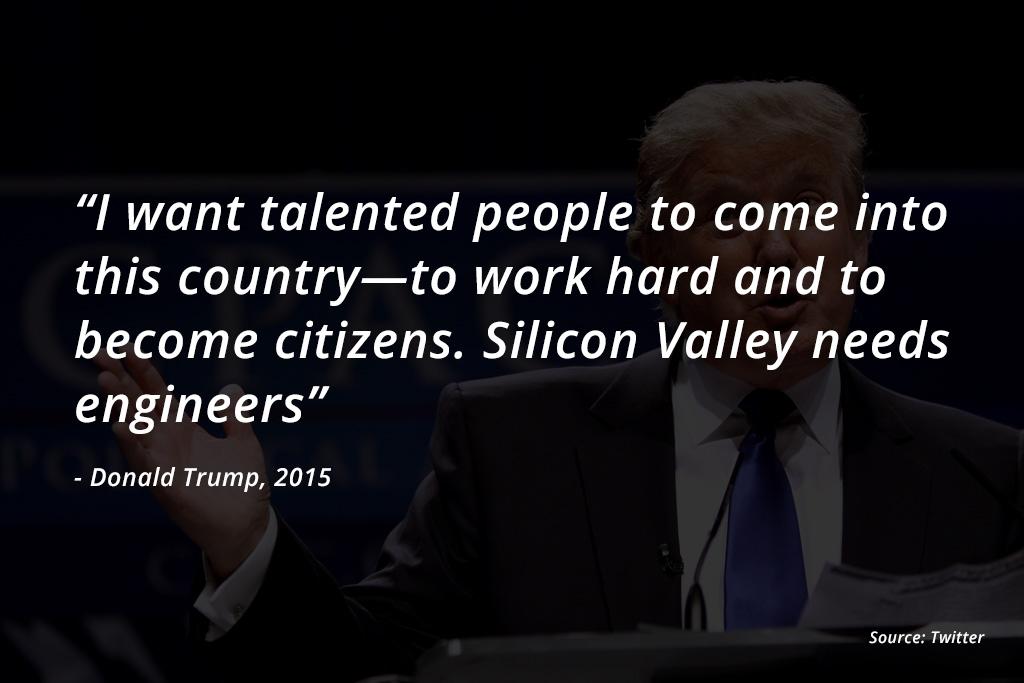 trump on engineers