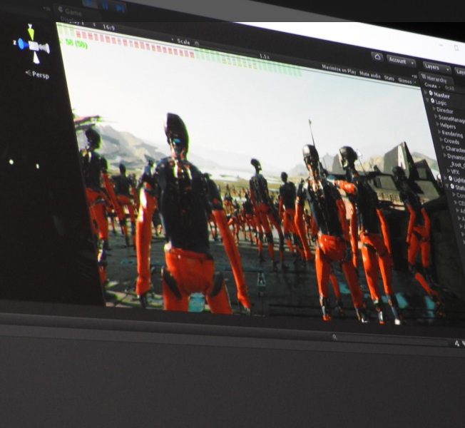 Unity's robot demo ups the quality of 3D graphics for Unity users.