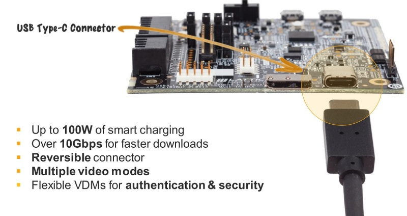 A USB Type-C reference design from Lattice and MediaTek.