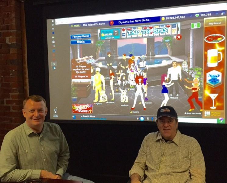FlowPlay leaders Douglas Pearson (left, CTO) and Derrick Morton (CEO).