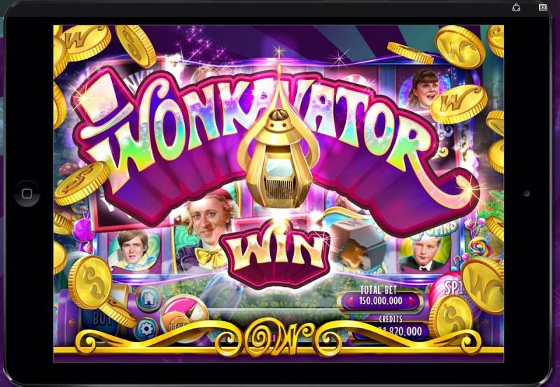 Willy Wonka slots game