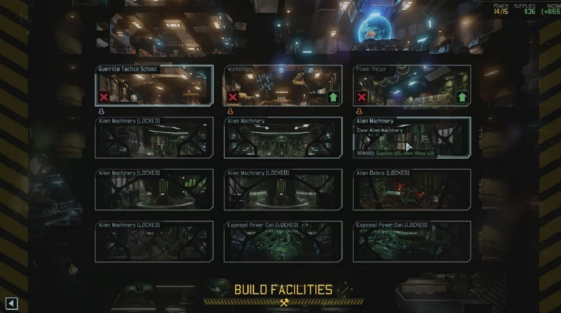 I spent a lot of time building out the Avenger mobile base in XCOM 2.