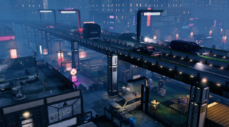 The slum map in XCOM 2 had a lot of vertical challenges.